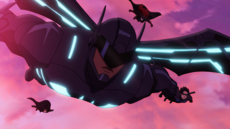 Batman Bad Blood review - Batwing, Robin, Nightwing and Batwoman