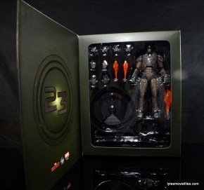 Comicave Studios Iron Man Shades figure review - inner package