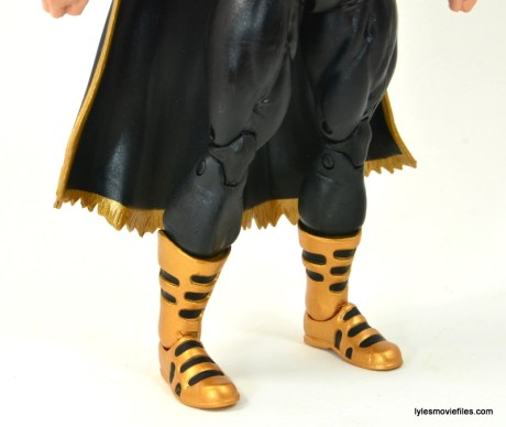 DC Icons Black Adam review - boot detail