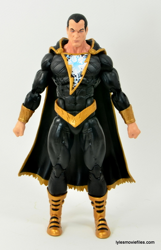 DC Icons Black Adam review - front