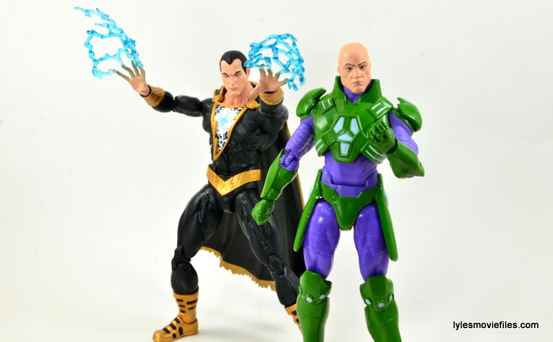 DC Icons Black Adam review - with Lex Luthor