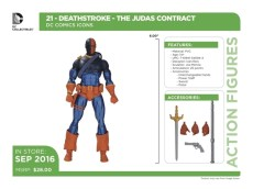 DC Icons - Deathstroke accessories