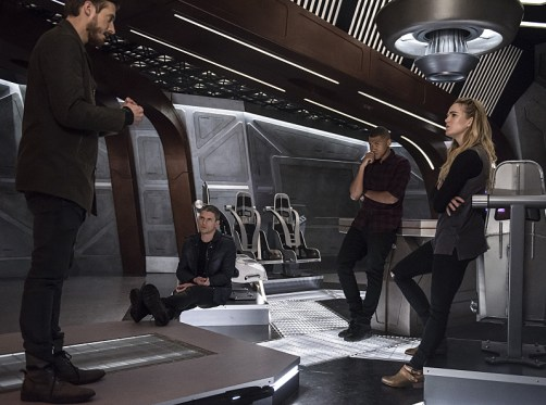 DC's Legends of Tomorrow review - Blood Ties - rip, captain cold, jax and sara