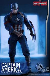 Hot Toys Captain America Civil War Captain America figure -angry head crossbones mask