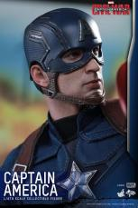 Hot Toys Captain America Civil War Captain America figure -head closeup