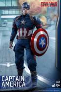 Hot Toys Captain America Civil War Captain America figure -straight ahead