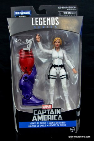 Marvel Legends Sharon Carter figure review - front package