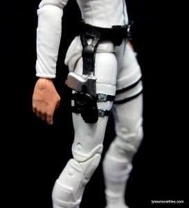 Marvel Legends Sharon Carter figure review - holster close up