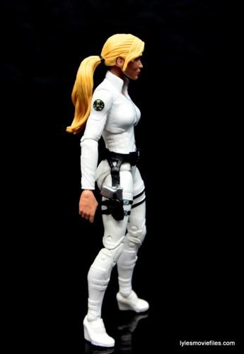 Marvel Legends Sharon Carter figure review - right side