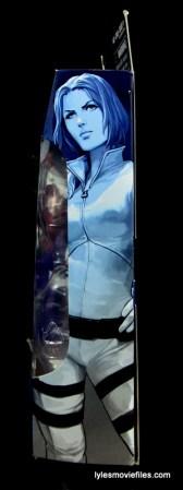 Marvel Legends Sharon Carter figure review - side package