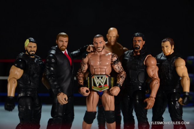 Mattel WWE Battle Pack - Triple H vs Daniel Bryan -Triple H with The Shield, Randy Orton and Kane