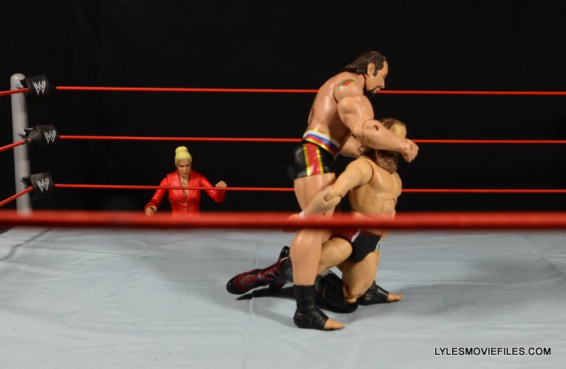 Mattel WWE Lana and Rusev Battle Pack -Basic Rusev Accolade with Lana