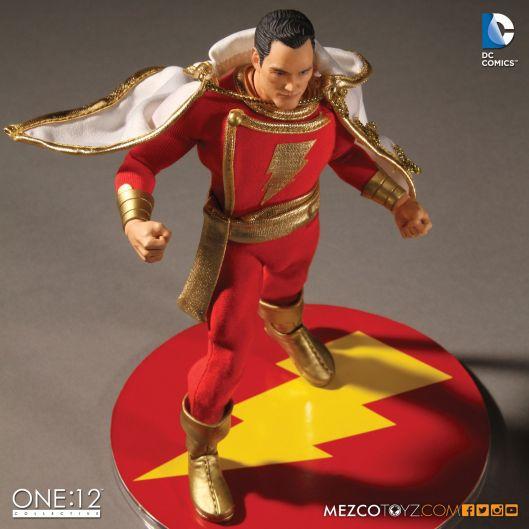 Mezco One 12 Shazam figure - on base