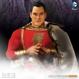 Mezco One 12 Shazam figure - serious face