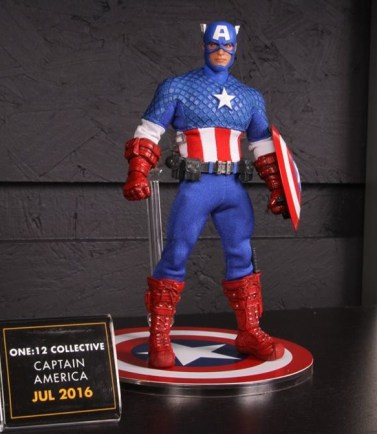 Mezco Toys pre-Toy Fair - Captain America 2