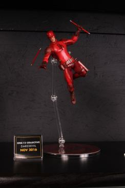 Mezco Toys pre-Toy Fair - Daredevil red outfit
