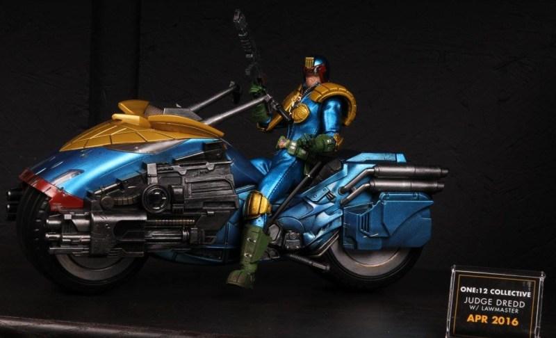 Mezco Toys pre-Toy Fair - Judge Dredd with lawmaker
