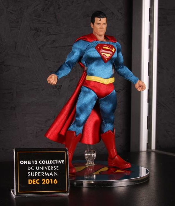 Mezco Toys pre-Toy Fair - Superman