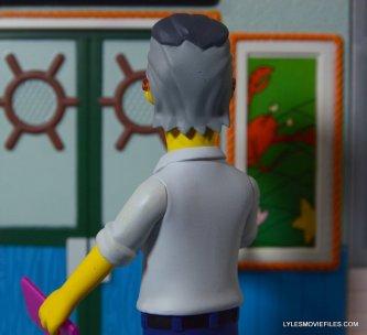 The Simpsons NECA Stan Lee figure -back of figure