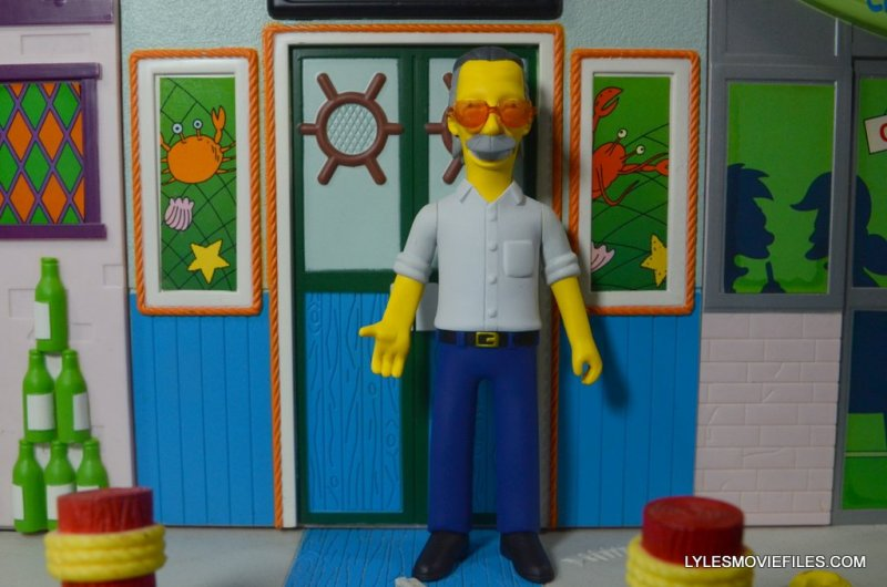 The Simpsons NECA Stan Lee figure -front wide
