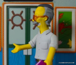 The Simpsons NECA Stan Lee figure -left side detail