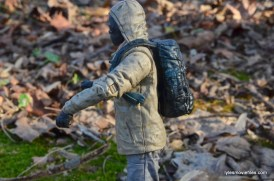 The Walking Dead Morgan Jones McFarlane Toys figure review -backpack issues