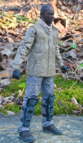The Walking Dead Morgan Jones McFarlane Toys figure review -right side
