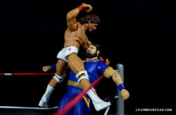 Tito Santana Mattel Hall of Fame figure - 10 count on Akeem