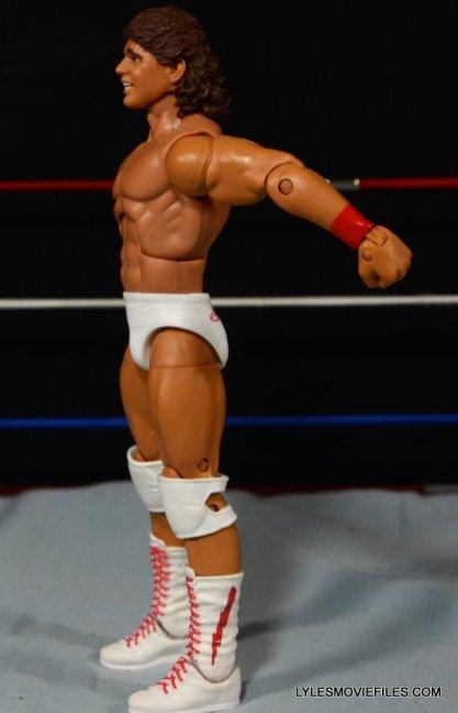 Tito Santana Mattel Hall of Fame figure -left side detail