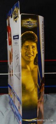 Tito Santana Mattel Hall of Fame figure -package side
