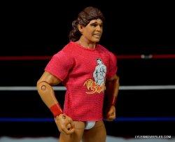 Tito Santana Mattel Hall of Fame figure -right side T-shirt on