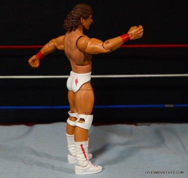 Tito Santana Mattel Hall of Fame figure -right side detail