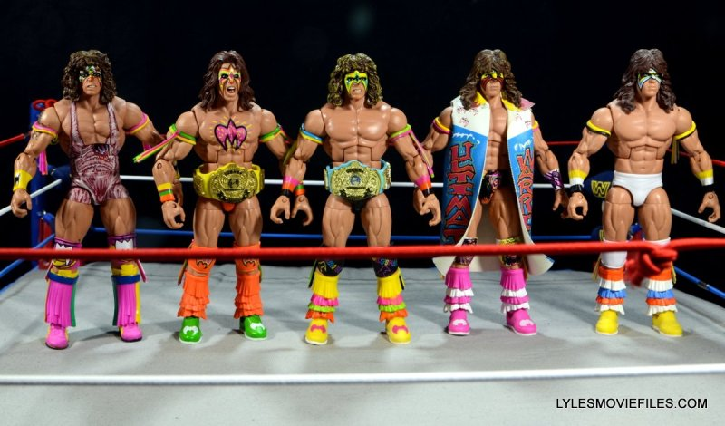 Ultimate Warrior Hall of Fame figure -Elite Collection Ultimate Warriors