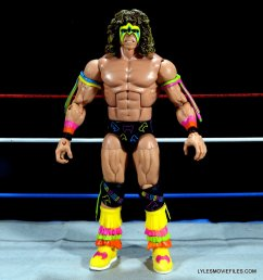 Ultimate Warrior Hall of Fame figure -full front detail
