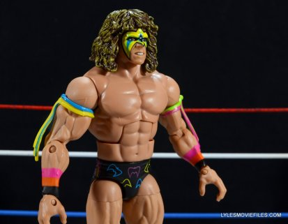 Ultimate Warrior Hall of Fame figure -right side close up