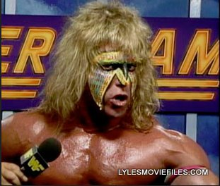 Ultimate Warrior Summerslam 1990 facepaint