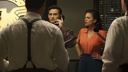 agent carter - smoke and mirrors review - sousa and peggy