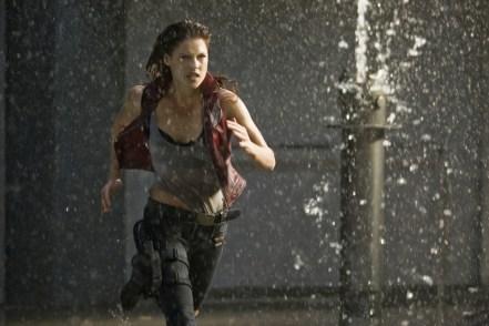 Ali Larter stars in Screen Gems' action horror RESIDENT EVIL: AFTERLIFE.