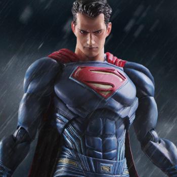 batman v superman - superman square enix