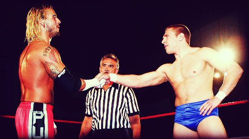daniel bryan - vs cm punk with ricky steamboat roh