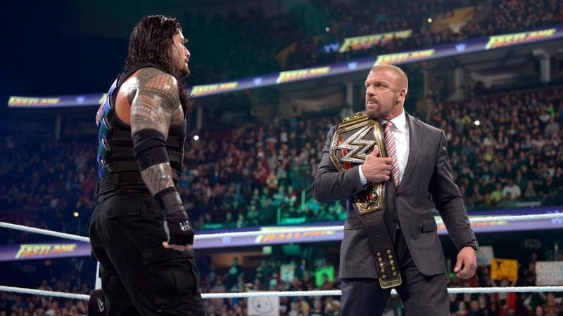 wwe fastlane -reigns and triple h