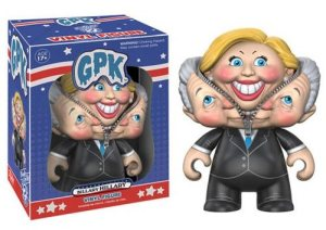 Billary Clinton vinyl figure