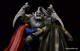 DC Signature Series Doomsday figure review - facing off Superman and Batman