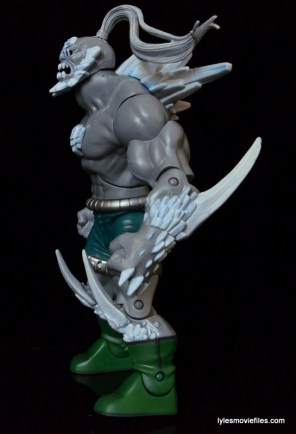DC Signature Series Doomsday figure review - left side