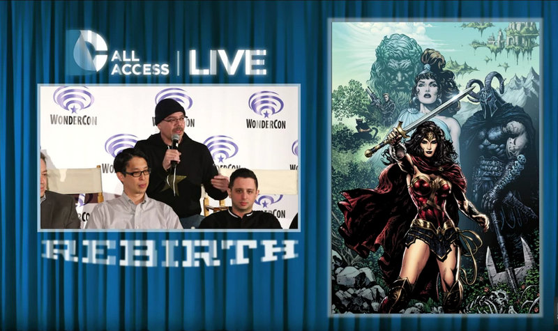 DCAA Live DC Universe REBIRTH - Wonder Woman panel