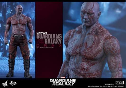 Hot Toys Guardian of the Galaxy Drax figure -profile