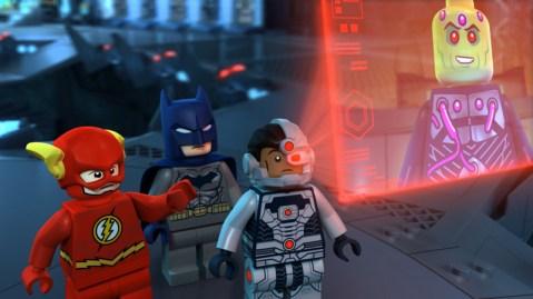 Justice League Cosmic Clash - Flash, Batman and Cyborg