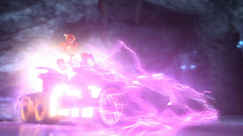 Justice League Cosmic Clash - Flash on Cosmic Treadmill