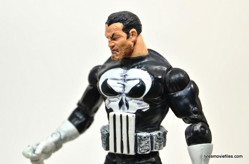 Marvel Legends Series 4 Punisher -left side slant