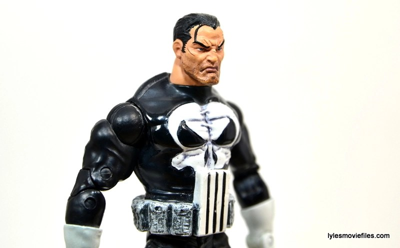 Marvel Legends Series 4 Punisher -right side slant
